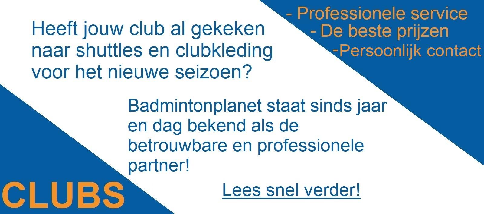 Clubs en Badmintonplanet