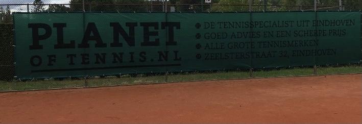 Winddoek Planet of Tennis