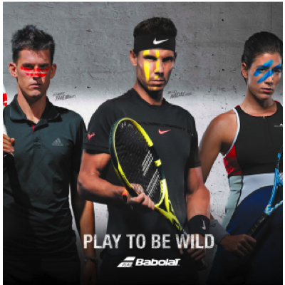 Babolat 3 players
